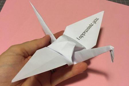 Paper Crane Movement