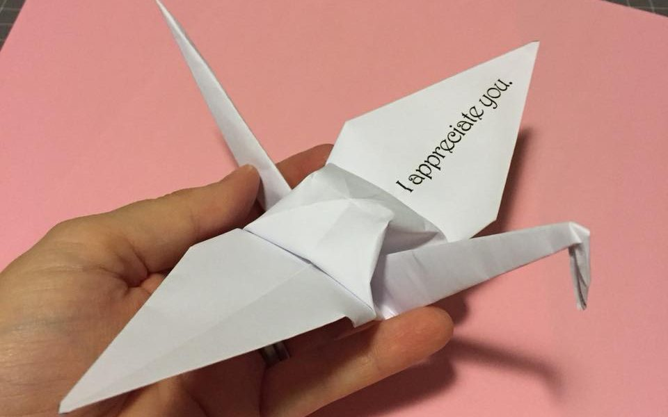 Paper Crane Movement